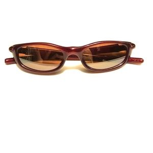 Burgundy Oakley Ladies Sunglasses